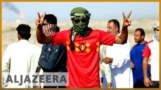 🇮🇶 Tear gas and water cannon fired at Iraqi protesters in Basra | Al Jazeera English - ALJAZEERAENGLISH