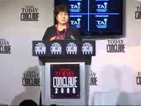 Sadhguru Jaggi Vasudev speech at India Today Conclave 2008 - part2