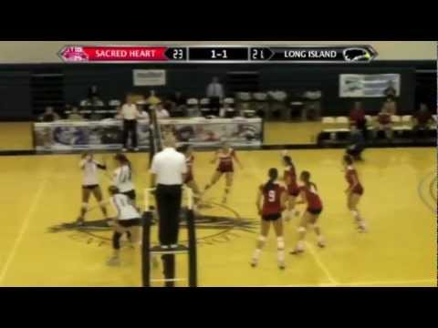 2011 NEC Women's Volleyball Championship: Sacred Heart vs. Long Island