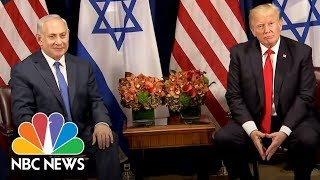 President Donald Trump To Benjamin Netanyahu At U.N.: 'Good Chance' For Peace Deal | NBC News - NBCNEWS