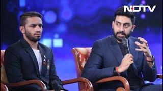 #NDTVYuva – Abhishek Bachchan Politely Turns Down A Boxing Match Against Amit Panghal - NDTV