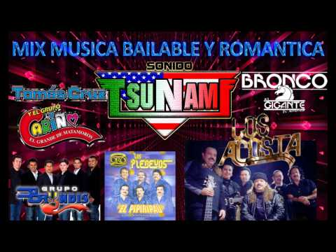 MIX MUSICA BAILABLE Y ROMANTICA