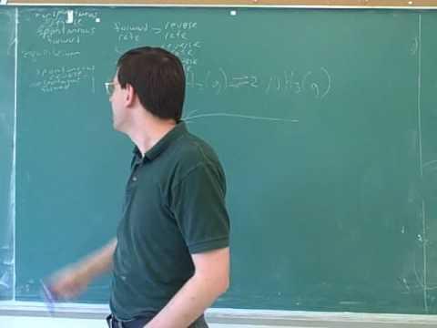 Equilibrium. Le Chatelier's principle (1)