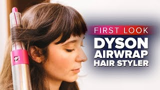 The Dyson Airwrap hair styler hands-on - CNETTV