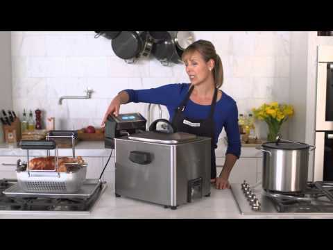 How to Deep Fry a Turkey with the Waring Digital Rotisserie Turkey Fryer | Williams-Sonoma