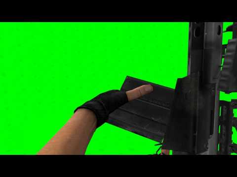 50 Caliber Rifle - Shoot & Reload - GreenScreen Pro's HD
