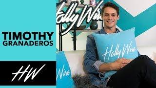 13 Reasons Why star Timothy Granaderos has a CRAZY FAN experience. - HOLLYWIRETV