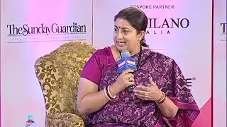 Women of Steel Summit: Smriti Irani shares about her life and lessons learnt by her family - NEWSXLIVE