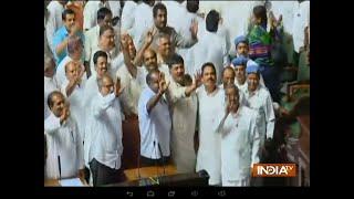 Karnataka CM HD Kumaraswamy wins floor test after 117 MLAs voted in his favour - INDIATV