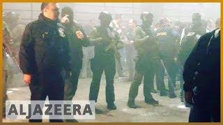Georgia: Thousands protest nightclub raids in Tbilisi | Al Jazeera English - ALJAZEERAENGLISH