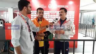 Manoj Sarkar | Asian Para Badminton Bronze Medalist speaks to India News with coach Gaurav Khanna - ITVNEWSINDIA
