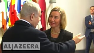 Netanyahu urges Europe to recognise Jerusalem as Israel capital - ALJAZEERAENGLISH
