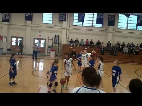 2014-02-08 Infant Jesus vs Villa CYO56 Girls Basketball