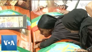 Ethiopians Hold Mass Funeral Ceremony for Crash Victims - VOAVIDEO