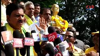 Minister Devineni Uma Inaugurates Gopala Rao Idol At Mylavaram | Krishna district | CVR NEWS - CVRNEWSOFFICIAL