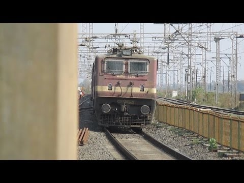 Indian Railways: Face to Face with WAP 4 Ranakpur!
