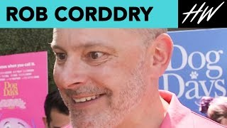 """Dog Days"" Rob Corddry Fangirls Over George Clooney! 