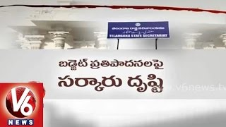 Telangana government focused on allocating of proposals for state budjet - V6NEWSTELUGU