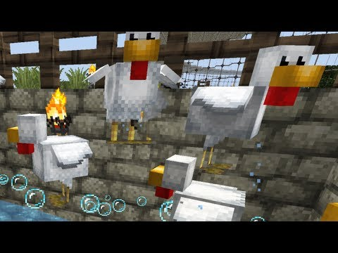 Chicken & Egg Farm Tutorial Minecraft