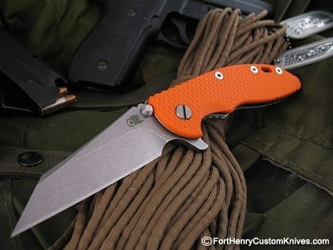 RICK HINDERER XM18 wharnie: WORST FLIPPING AND DETENT EVER!