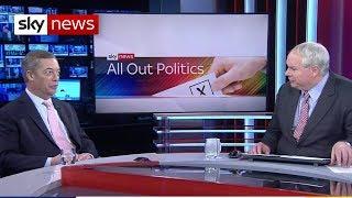 Ex-UKIP leader Nigel Farage announces his return - SKYNEWS