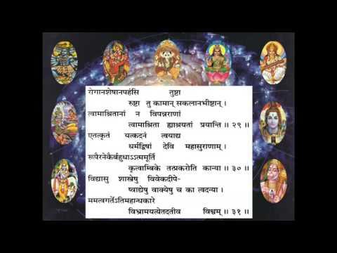 Durga Saptashati –  Eleventh Chapter (Pujaa.se )