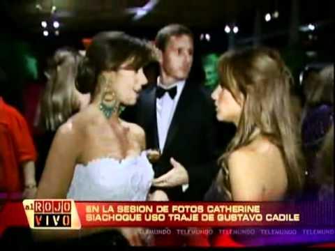 PaoPacheco.com jewelry worn by Catherine Siachoque on Telemundo