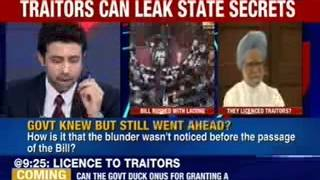 Did the centre give a license to the traitors ? - NEWSXLIVE