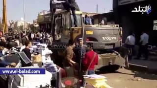 بالفيديو والصور.. إزالة التعديات على «بحر مويس» أمام جامعة الزقازيق