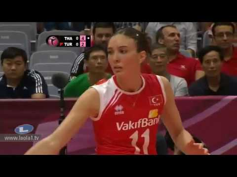  -  Thailand - Turkey Volleyball World Grandprix 2012 - Ningbo