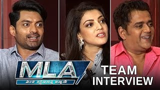 MLA Movie Team Interview | Kalyan Ram | Kajal Agarwal | TFPC - TFPC