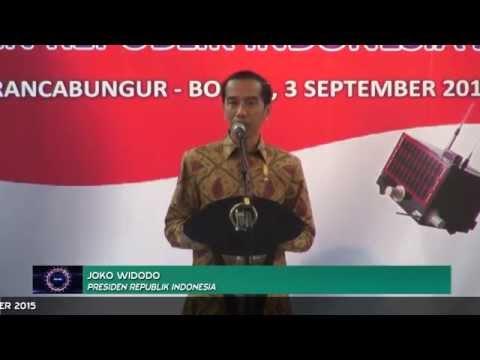 Presiden RI Lepas Satelit Lapan A2  di Rancabungur Bogor