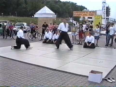 Pokaz Aikido Nishio Malta 2000 rok  - Czarny Pas Poznań