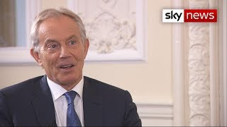 "Blair on Brexit: ""The logical thing is to go back to the people"" - SKYNEWS"