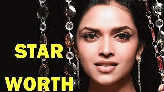 Deepika Padukone's star net worth - REVEALED!