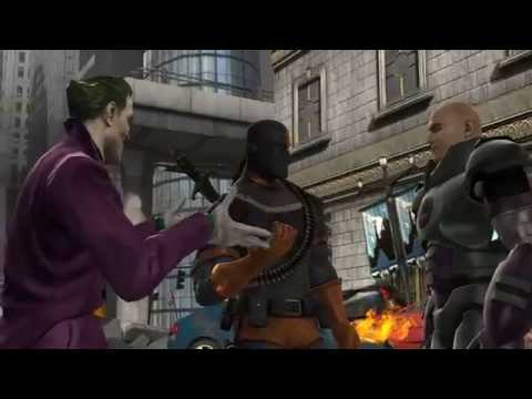 Mortal Kombat v DC Universe Storyline HD trailer PS3 and Xbox 360