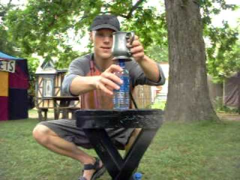Bullwhip Cracking: Bottle Tricks