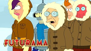 FUTURAMA | Season 7, Episode 13: All Hope Depends On Norway | SYFY - SYFY
