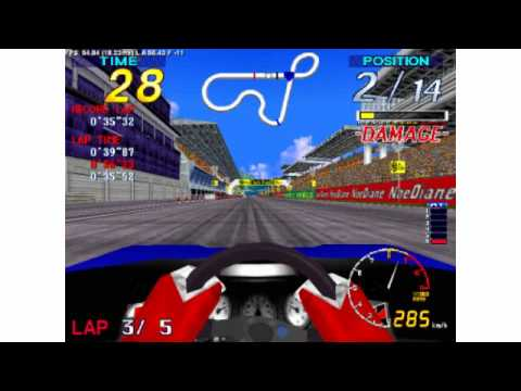 Super GT 24 Jaleco Model 2 Racing Game (Short Course)