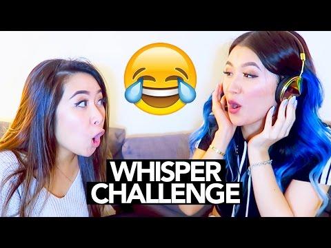 Whisper Challenge (ft. my BFF) || Sylvia Jade