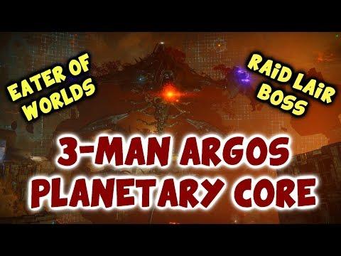 3-Man Argos - Raid Lair Final Boss #MOTW