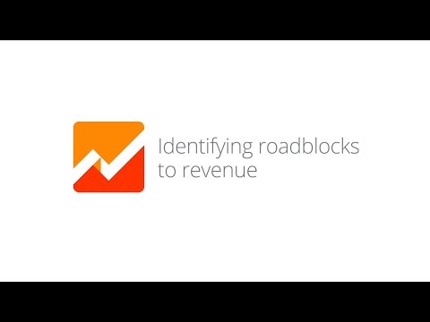 Mobile App Analytics Fundamentals - Lesson 4.1 Identifying roadblocks to revenue