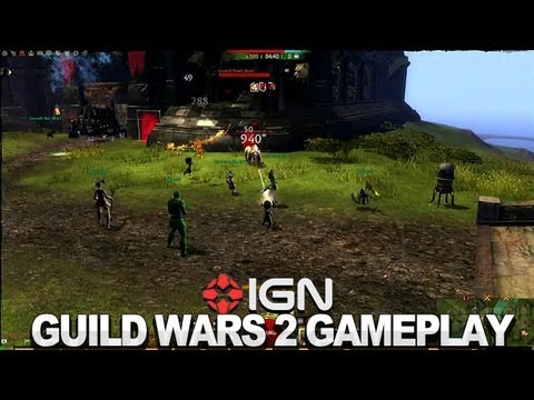 Guild Wars 2 Gameplay - World Versus World