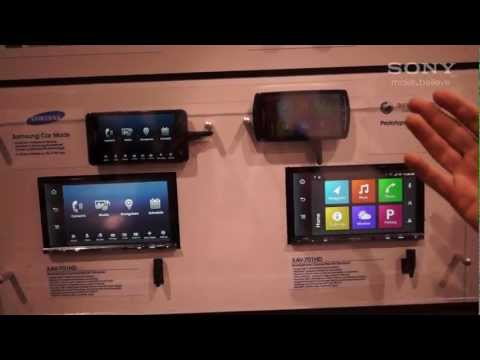 Sony @ CES 2012 Sony Xplod Mirrorlink Demo