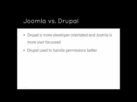 Joomla 1.6 Tutorial Video