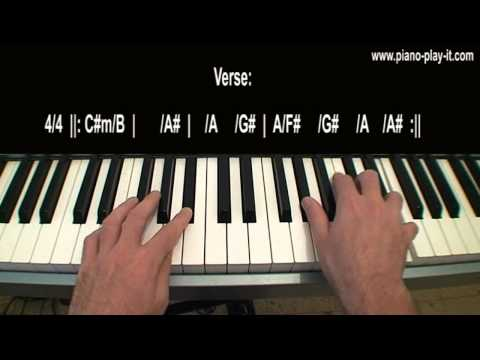 Tears Dry On Their Own Amy Winehouse Piano Tutorial