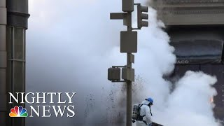 Steam Pipe Explodes In New York City | NBC Nightly News - NBCNEWS