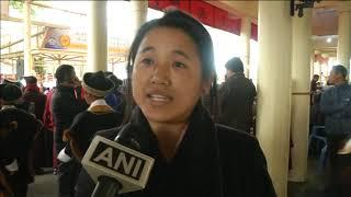 11 Dec, 2018 - Tibetans in-exile mark Dalai Lama's Nobel Peace Prize anniversary in India - ANIINDIAFILE