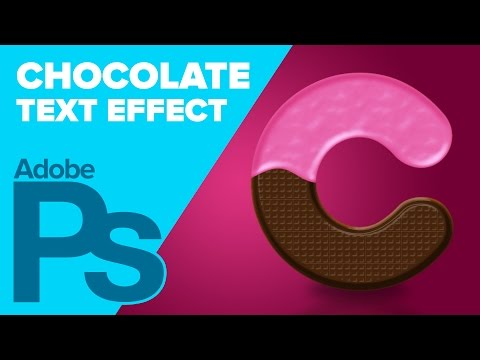Chocolate Text Effect for Valentine's Day in Photoshop
