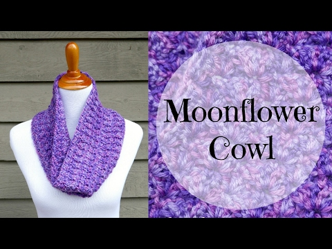 How to Crochet the Moonflower Cowl, Episode 384